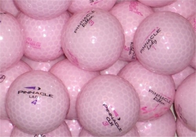 1 Dozen Pinnacle Gold Lady Pink AA-AAA Lakeballs